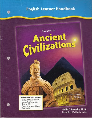 9780078703201: English Learner Handbook (Ancient Clivilizations - Glencoe Social Studies)