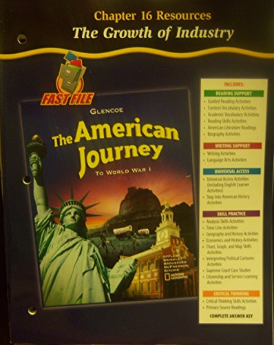 Glencoe Fast File - The American Journey: Editorial Staff; McGraw-Hill,