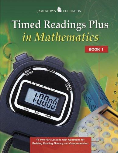 9780078726590: Timed Readings Plus in Mathematics (Jamestown Education)