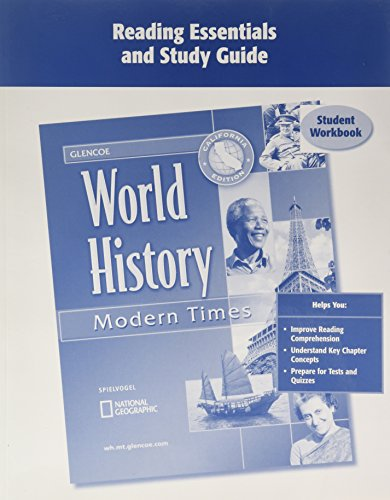 9780078726880: Reading Essentials and Study Guide: World History - Modern Times, California Edition