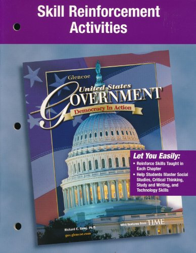 9780078729690: Skill Reinforcement Activities (United States Government, Democracy in Action)