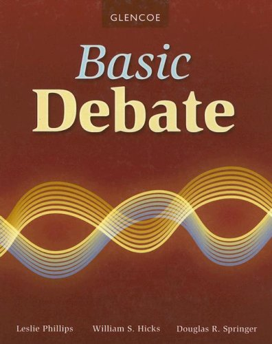 9780078729942: Basic Debate, Student Edition (DEBATE SERIES)