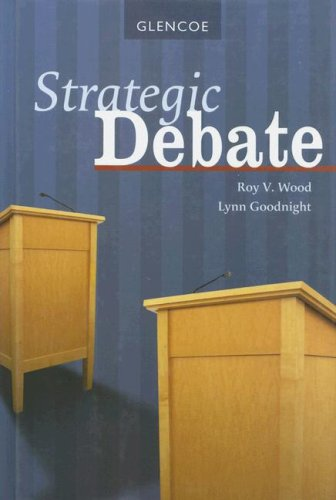 9780078729959: Strategic Debate, Student Edition (DEBATE SERIES)
