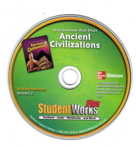 9780078731402: Discovering Our Past: Ancient Civilizations StudentWorks Plus Textbook with Audio, Workbooks, and Mo