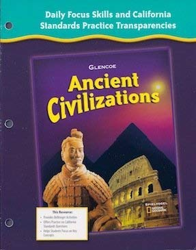 9780078731730: Daily Focus Skills and California Standards Practice Transparencies (Ancient Civilizations)