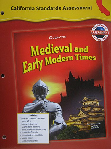 9780078731921: California Standards Assessment (Medieval and Early Modern Times)