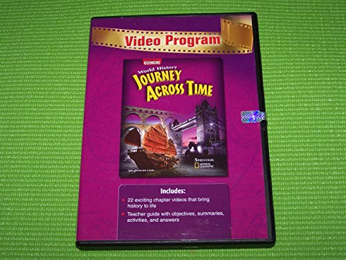 9780078732300: World History Journey Across Time Video Program