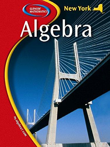 9780078733161: New York Algebra 1, Student Edition