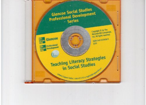Teaching Literary Strategies in Social Studies DVD (Glencoe Social Studies Professional Developme...