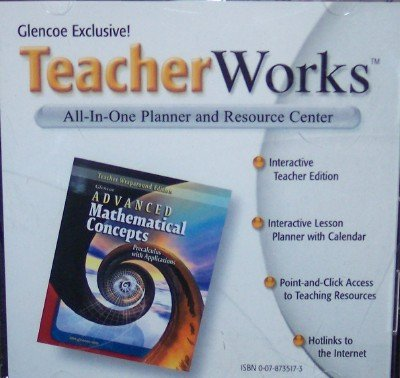 9780078735172: Advanced Mathematical Concepts Teacher Works (Precalculus with Applications, All in one Planner and Resource Center)