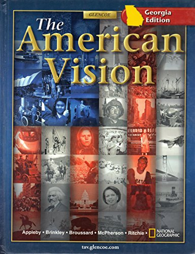 9780078735707: The American Vision/Georgia Edition
