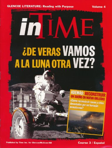 9780078736506: Glencoe Literature, Course 3, Spanish inTIME Magazine