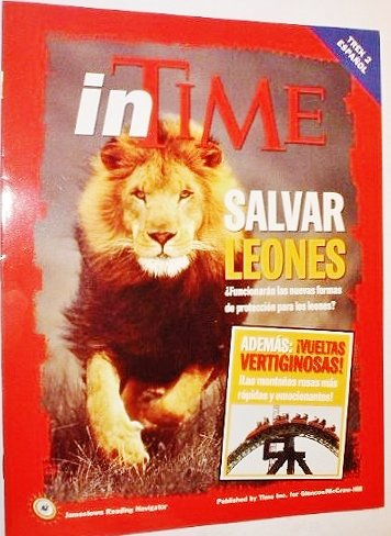 9780078736803: inTime: Salvar Leones (Jamestown Reading Navigator, Trek 2 Espanol)