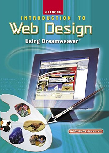 9780078736872: Introduction To Web Design, Using Dreamweaver, Student Workbook