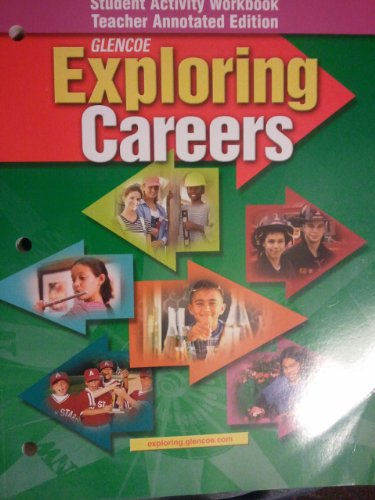 9780078736933: Exploring Careers (Student Activity Workbook)