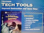 9780078737558: The American Journey Teacher Tech Tools CD Set (To World War I, California Edition)