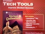 9780078737602: Ancient Civilizations Discovering Our Past Level 6 Student Tech Tools CDs (Glencoe California Series)