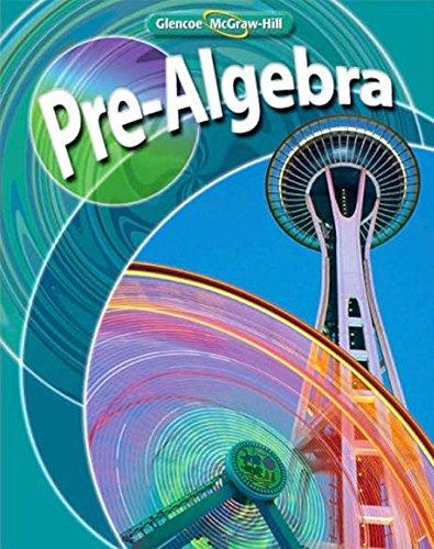 9780078738180: Pre-Algebra, Student Edition