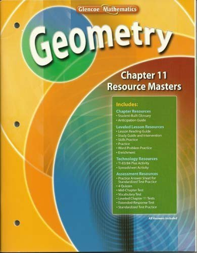 9780078739682: Geometry Chapter 11 Resource Masters