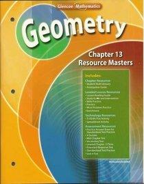 9780078739705: Chapter 13 Resource Masters © 2007 (Glencoe Geometry ©2008)