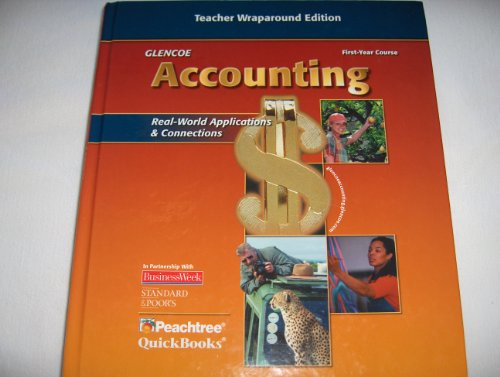 9780078739859: Glencoe Accounting High School First Year Course Teacher Wraparound Edition