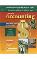 9780078739866: Glencoe Accounting: First Year Course, Chapters 1-29, Working Papers (GUERRIERI: HS ACCTG)