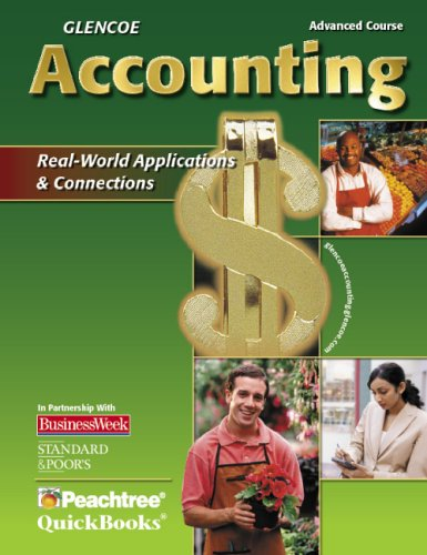 9780078740381: Glencoe Accounting Advanced Course, Student Edition