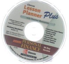 9780078741159: 2007 Glencoe Personal Finance Lesson Planner CD ROM