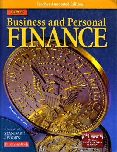 9780078741227: Glencoe. Business and Personal Finance. TAE