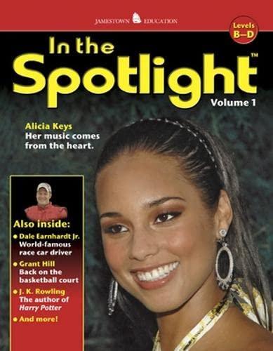 9780078743184: In the Spotlight: Volume 1, Levels B-D (JT HI-LO NON-FICTION SERIES)