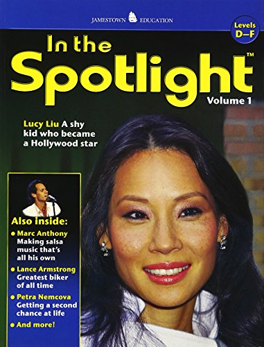 9780078743191: In the Spotlight: Vol 1, Levels D-F (JT HI-LO NON-FICTION SERIES)