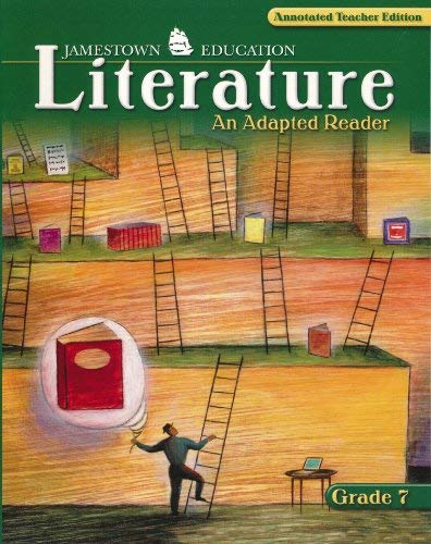 9780078743276: Glencoe JamesTown Literature An Adapted Reader Grade 7 Annotated Teacher's Edition. (Paperback)
