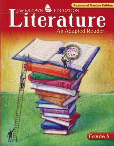 9780078743283: Literature: An Adapted Reader CRS 8 (Annotated Teacher Edition) (Paperback)