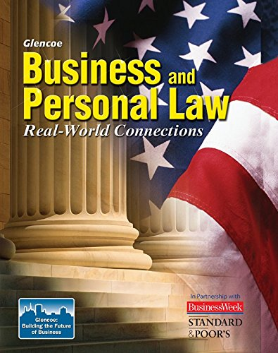 9780078743696: Business and Personal Law, Student Edition (BROWN: UNDER BUS & PERS LAW)