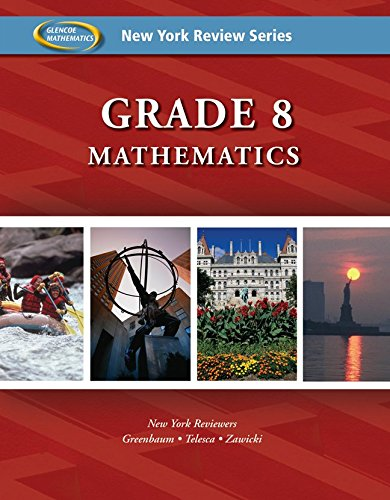 New York Review Series: Grade 8 Mathematics Review Workbook: Glencoe McGraw-Hill