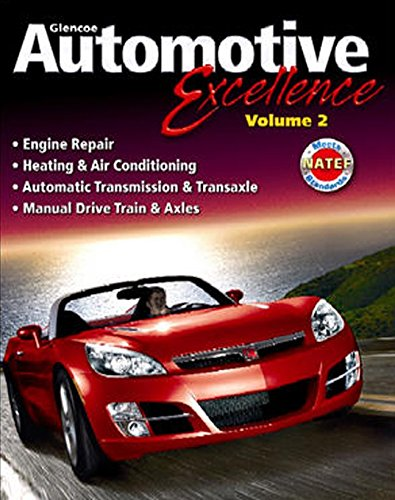 9780078744136: Automotive Excellence, Student Edition, Volume 2