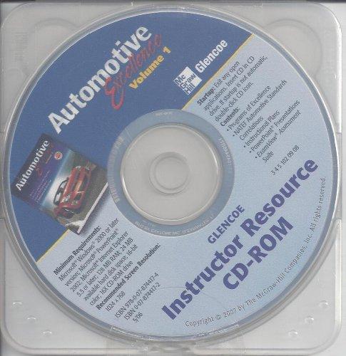 9780078744174: Automotive Excellence, Volume 1