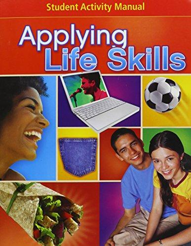 9780078744372: Glencoe Applying Life Skills, Student Activity Manual (SAM)