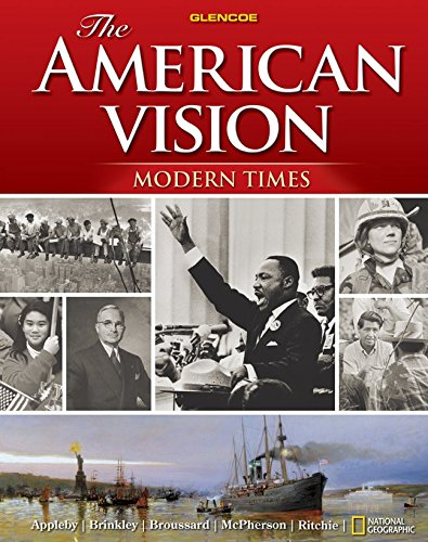 9780078745232: The American Vision: Modern Times, Student Edition
