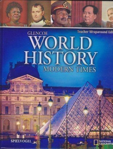 9780078745287: Glencoe World History: Modern Times, Teacher Wraparound Edition