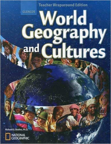 9780078745300: Glencoe World Geography and Cultures Teacher Wraparound Edition