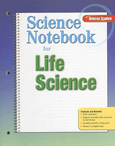 9780078745676: Science Notebook for Life Science (Glencoe Science)