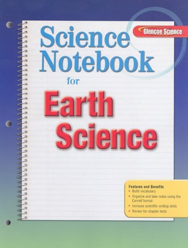 9780078745690: Science Notebook for Earth Science (Glencoe Science)