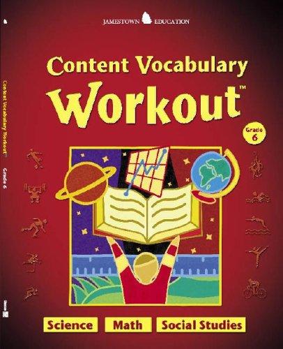 Jamestown Education, Content Vocabulary Workout, Student Edition, Grade 6: Glencoe McGraw-Hill