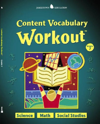 9780078745966: Jamestown Education, Content Vocabulary Workout, Student Edition, Grade 7