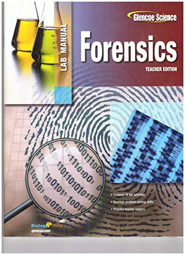 9780078747168: Forensics-Lab Manual-TE (Glencoe Science)