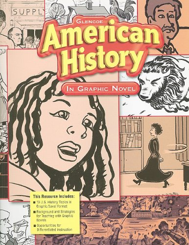 9780078747373: High School American History: In Graphic Novel