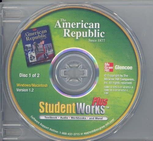 9780078747519: The American Republic Since 1877, Studentworks(tm) Plus