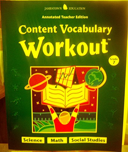 9780078747601: Content Vocabulary Workout: Grade 7