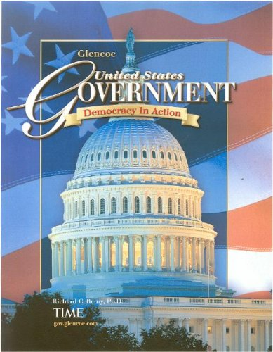 9780078747625: United States Government: Democracy in Action, Student Edition